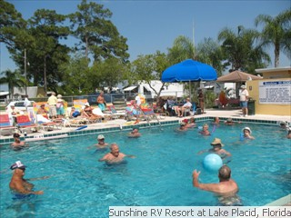 Sunshine RV Resort Pool